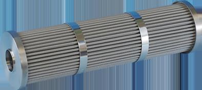 METAL FIBER CARTRIDGE (High Filtration Area Type)